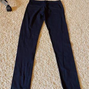 Black full length lululemon pants